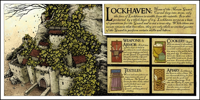 Mouse Guard Lockhaven